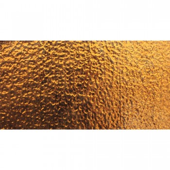 Metro Verre Carrelage Mural Subway Copper Mirage Corrugated 7,5x15cm