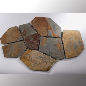 Polygonal Plat Quartzite Multi