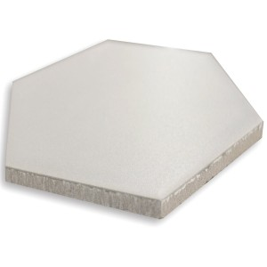 Carrelage Sol Hexagone Angle Blanc
