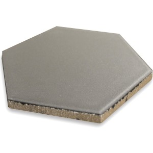 Carrelage Sol Hexagone Angle Gris